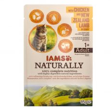 IAMS Naturally Chicken & Lamb 85 g