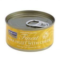 Fish4cats Finest Tuna & Cheese 70 g