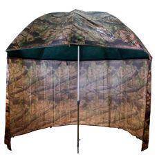 Deštník PVC s prodlouženou bočnicí 250cm camo