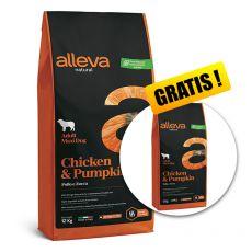 Alleva NATURAL dog chicken & pumpkin adult maxi 12 + 2 kg GRATIS