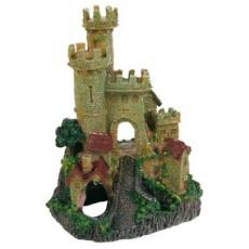 Dekorace hradba opevněného zámku
