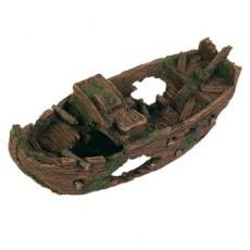 Dekorace stará děravá dělostřelecká loď