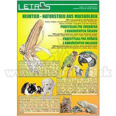 Podestýlka kukuřičná 10 l - jemná