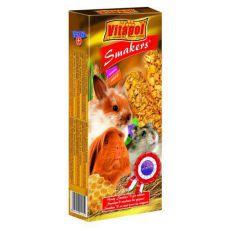 Vitapol Smakers Medové tyčinky pro hlodavce 90 g