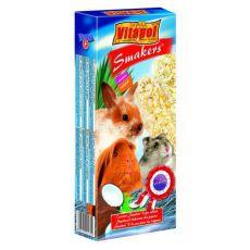 Vitapol Smakers Kokosové tyčinky pro hlodavce 90 g