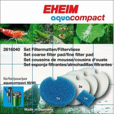 Eheim Aquacompact - sada filtračních vložek