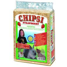 CHIPSI STRAWBERRY - podestýlka s vůní Jahoda 60 l