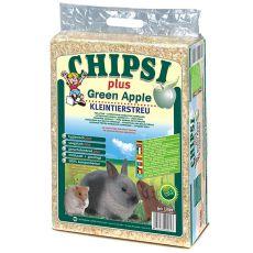 CHIPSI PLUS GREEN APPLE hobliny pro hlodavce Jablko - 60 l