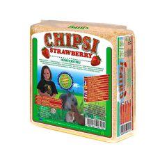 CHIPSI STRAWBERRY - podestýlka s vůní Jahoda 15 l
