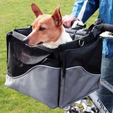 Luxusní přenosný box pro psa na kolo 41 x 26 x 26 cm