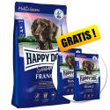 Happy Dog Supreme Sensible France 12,5 kg + 2 x 1kg GRATIS