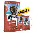 Happy Dog Supreme Sensible Lombardia 11 kg + 2 x 1kg GRATIS