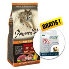 Primordial GF Adult Buffalo & Mackerel 12kg + DÁREK