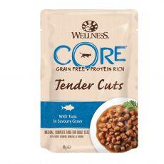 Wellness CORE Tender Cuts tuňák 85 g