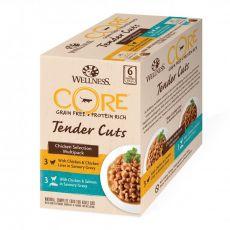 Wellness CORE Tender Cuts Kuřecí multipack 6 x 85 g