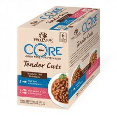 Wellness CORE Tender Cuts Tuňákový multipack 6 x 85 g