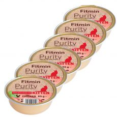 Fitmin Kitten Purity kuřecí vanička 6 x 85 g
