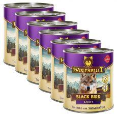 Konzerva Wolfsblut Black Bird 6 x 800 g