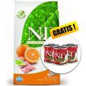 Farmina N&D dog GF ADULT MINI Fish & Orange 7 kg + DÁREK