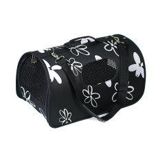 Přepravka pro psy a kočky - černá, 37 x 22 x 20 cm