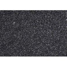 Akvaristický štěrk černý 1-3 mm – 5 kg