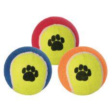Tenisový míč pro psy - barevný, 10 cm