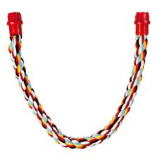 Bidlo pro ptáky - bavlněné lano, 66 cm