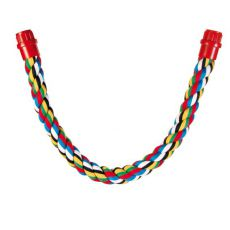 Bidlo pro ptáky - bavlněné lano, 75 cm