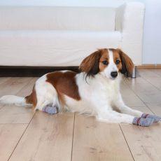 Ponožky pro psy - protiskluzové 2 ks, L - XL