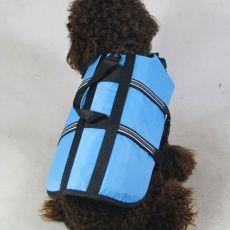 Vesta pro psy - záchranná modrá, XS