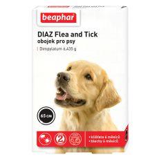 Obojek pro psy proti blechám a klíšťatům DIAZ - 65 cm