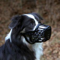 Náhubek pro psa, plastový - velikost M, 22 cm