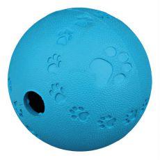 Míček na pamlsky pro psy - přírodní guma, 7 cm
