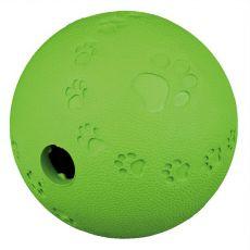Míček na pamlsky pro psy - přírodní guma, 6 cm