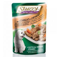 Stuzzy Speciality Dog - králík se zeleninou, 100 g