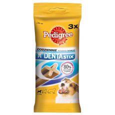Tyčinky pro psy Pedigree Denta Stix small - 3 ks / 45 g