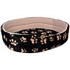 Pelech Charly pro psy a kočky, černo-béžový - 50 x 43 cm