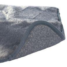Termo lehadlo pro psa šedé barvy - 75x70 cm