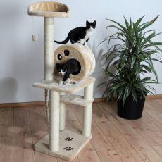 Drápadlo pro kočku Salamanca, béžové - 138 cm