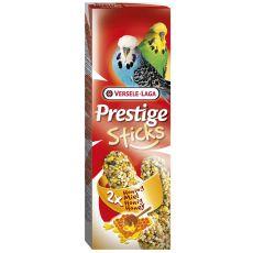 Tyčinky pro andulky Prestige Sticks 2ks - med, 60g