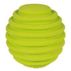 Hračka pro psa z latexu - vroubkovaný míček, 6 cm
