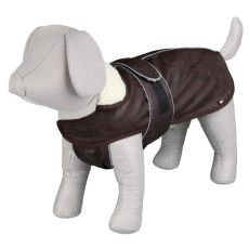 Kabát pro psa s límcem a reflexními prvky M / 50-70 cm