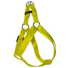 Postroj pro psa neonově žlutý, 1 x 25-34 cm