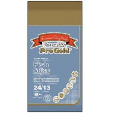 Frank´s Pro Gold Fish and Rice 24/13 se zeleninou - 15 kg