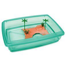 Bazén pro želvy - zelený - 43,5 x 34 x 11 cm