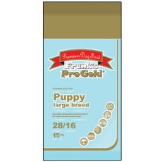 Frank´s Pro Gold Puppy Large Breed 28/16 - 15 kg