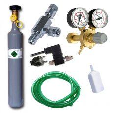 CO2 profi set 500 g s elektromagnetickým ventilem
