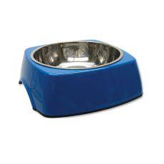 Miska pro psa DOG FANTASY, hranatá - 1,40 l, modrá