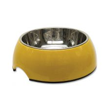 Miska pro psa DOG FANTASY,  0,70 l - žlutá