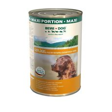 BEWI DOG , Drůbež - 1200 g konzerva